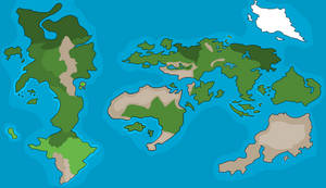 My Version Of The Sonic World Map by SilversFanGurl