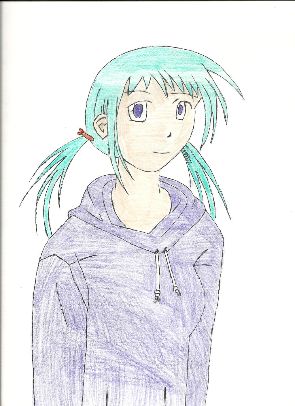 anime girl with hoodie pictures to pin on pinterest