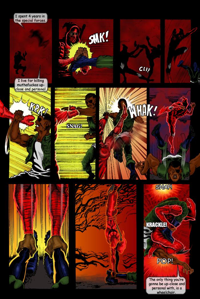 SLIM RED NINLA by goldbrandonium