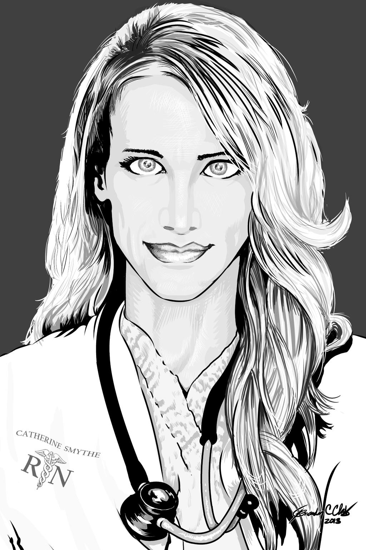 Catherine Smythe Ink by goldbrandonium