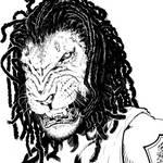Lion Black by goldbrandonium