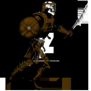 Swordsman Leather by goldbrandonium