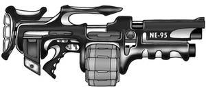 guns by goldbrandonium