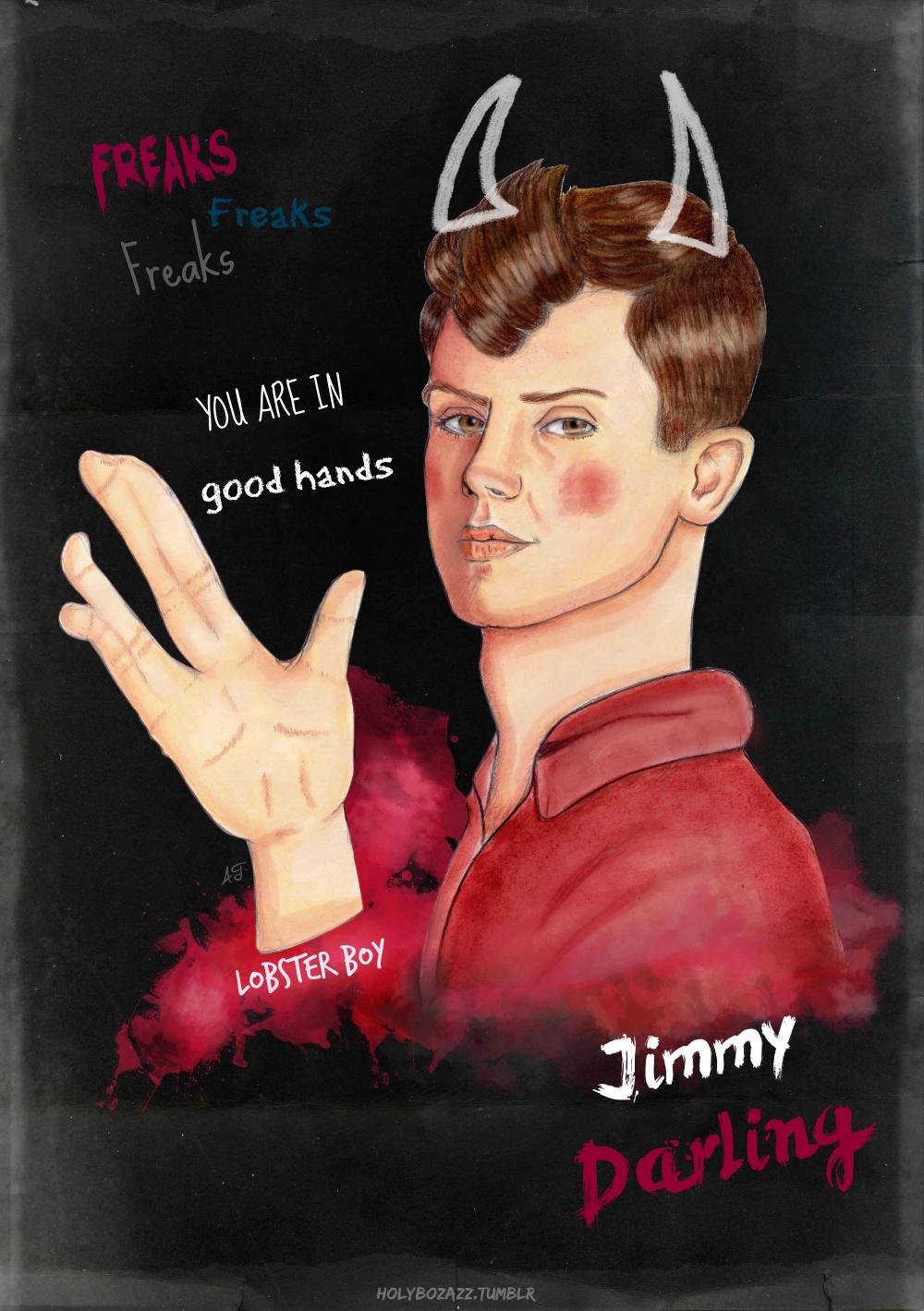 Jimmy Darling x Lobster Boy by ARTarek on DeviantArt