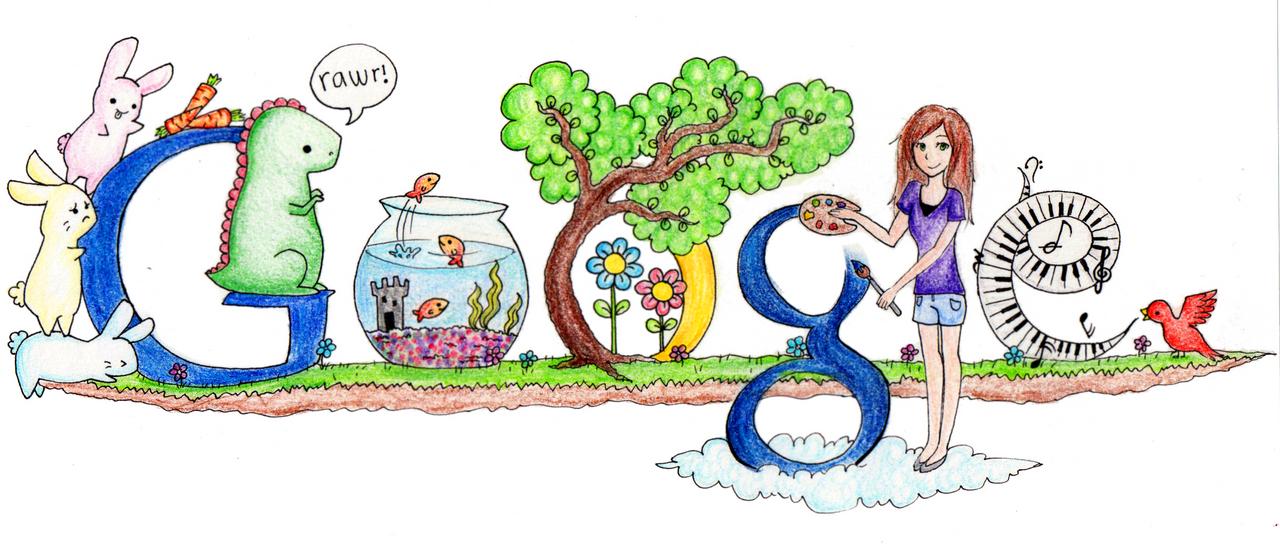 Scribble Google Drawing : Doodle google by mushiboo on deviantart