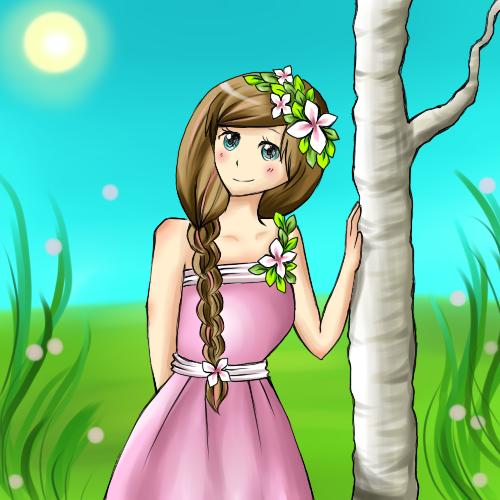 Yay Spring :D by Mushiboo