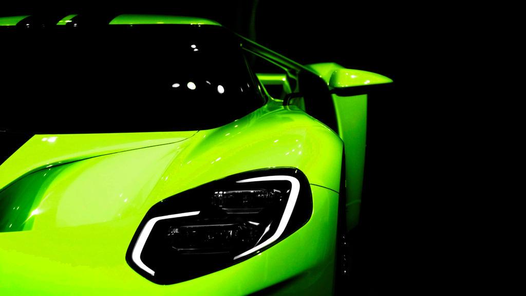 Ford Gt Green By Firstlightstudios