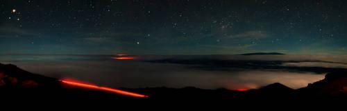 Night Sky from Mauna Kea by FirstLightStudios
