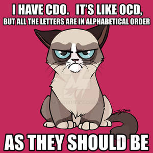 OCD Grumpy Cat