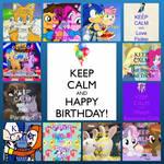 Happy Birthday to DylanThaBandicoot!! by Skittlz339