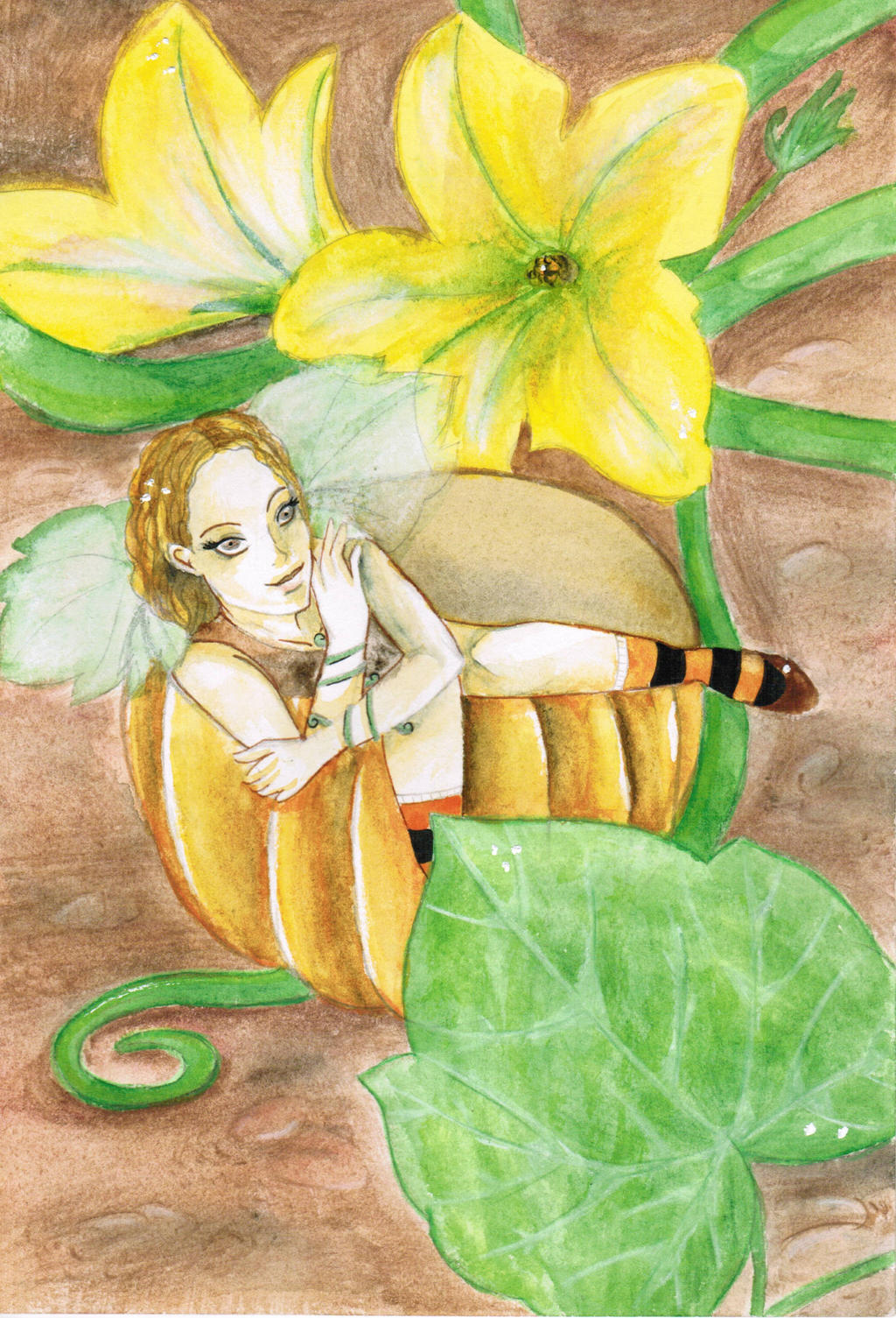 October fairy by ClaireDe