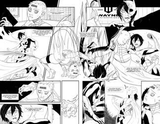 Batgirl VS #1 p4-5 by SwainArt