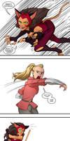 Catra's Weakness