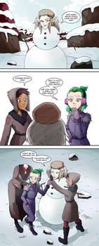 Eda's Fun In The Snow