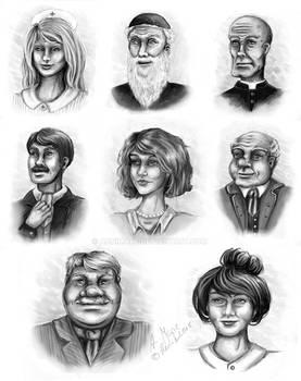 Drygolstadt Characters
