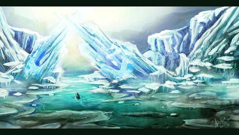 Iceland Sketch by AnnimaRe