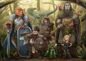 Dungeons and Dragons group
