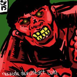 Red Hulk by NexusDX