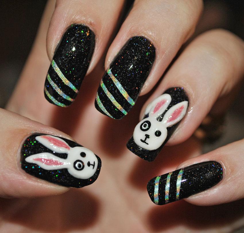 Emo Bunny by MadamLuck on DeviantArt
