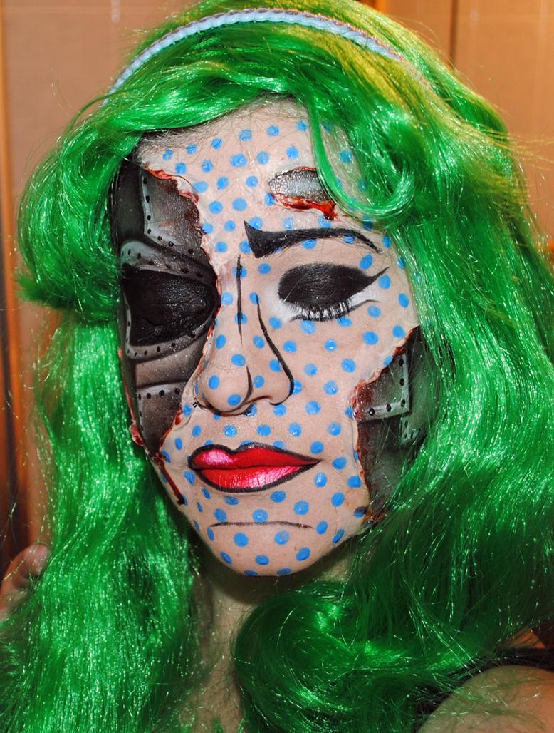 Robotic pop art by MadamLuck