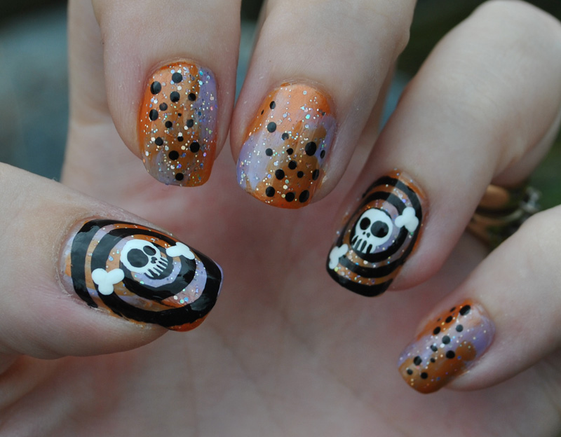 Skulls + Swirls by MadamLuck