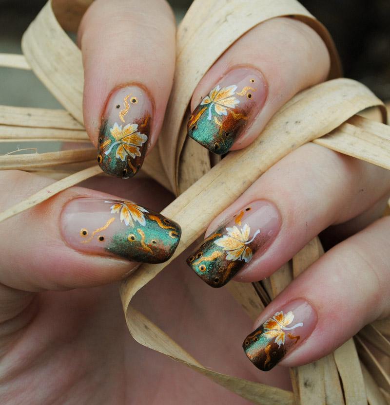 Nail arts Autumn_by_madamluck-d4o9on5