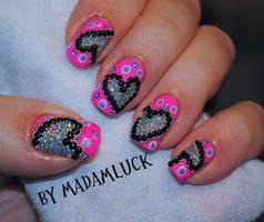 Glitter sprinkled Valentine by MadamLuck