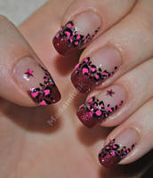 Pink Leopard by MadamLuck