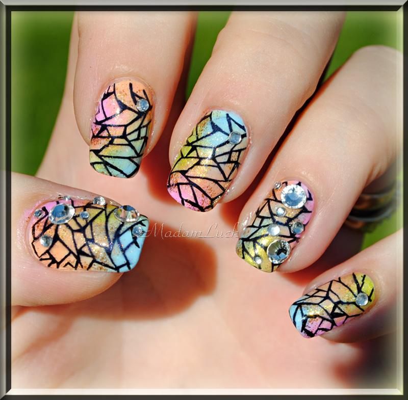 Spring Nail Art By MadamLuck On DeviantArt