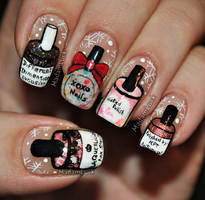 For the love of indie polishes by MadamLuck