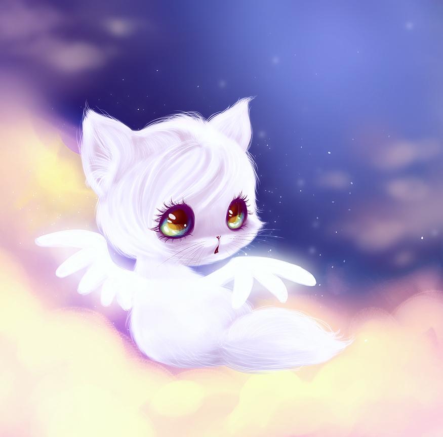meow meow angel meow meow by yanea