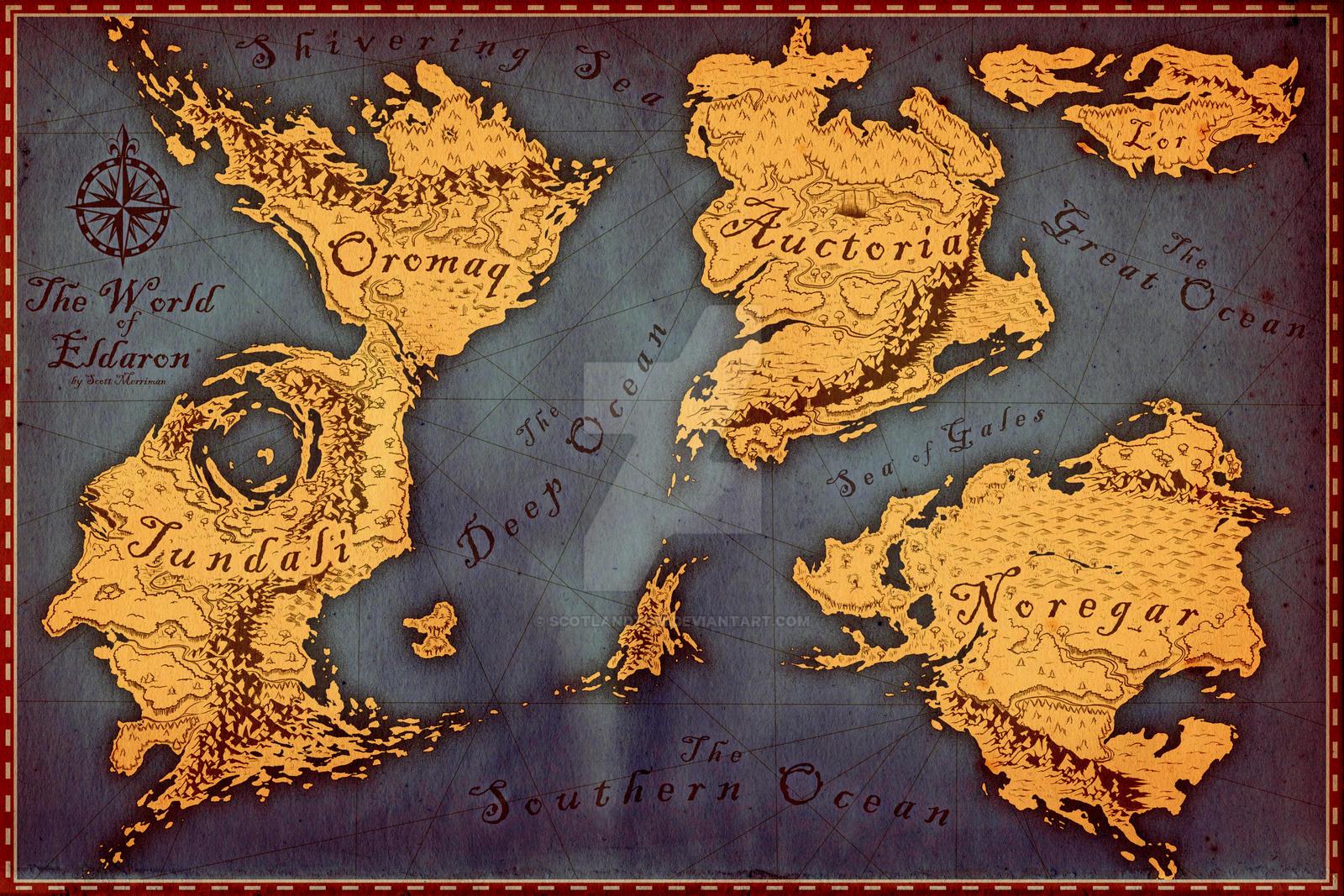 The world of eldaron by scotlandtom on deviantart the world of eldaron by scotlandtom the world of eldaron by scotlandtom gumiabroncs Choice Image