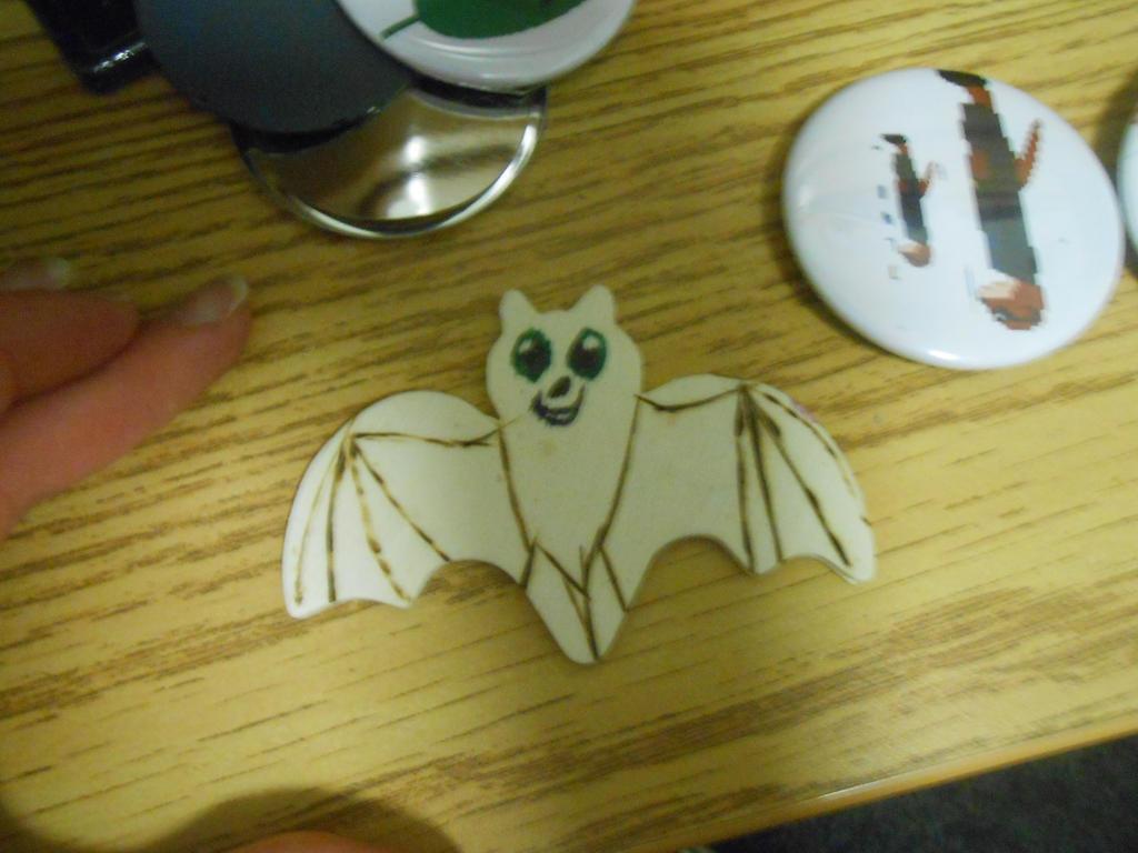 Burnt wood bat by BatBlaster
