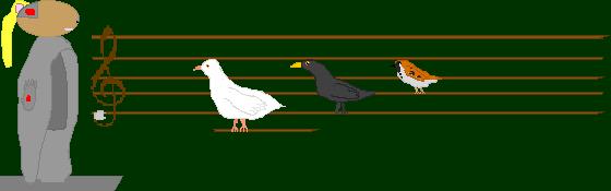 The three birds by BatBlaster