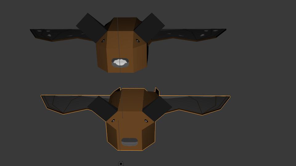 3D Little Brown Bats by BatBlaster