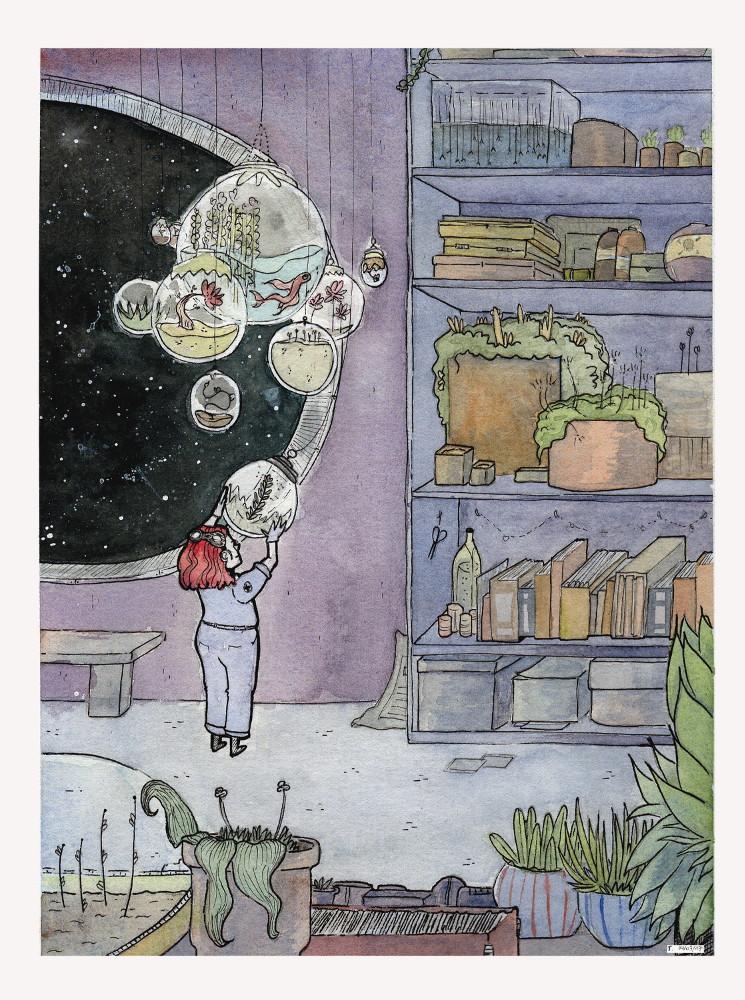 The Space Botanist by JapanTama