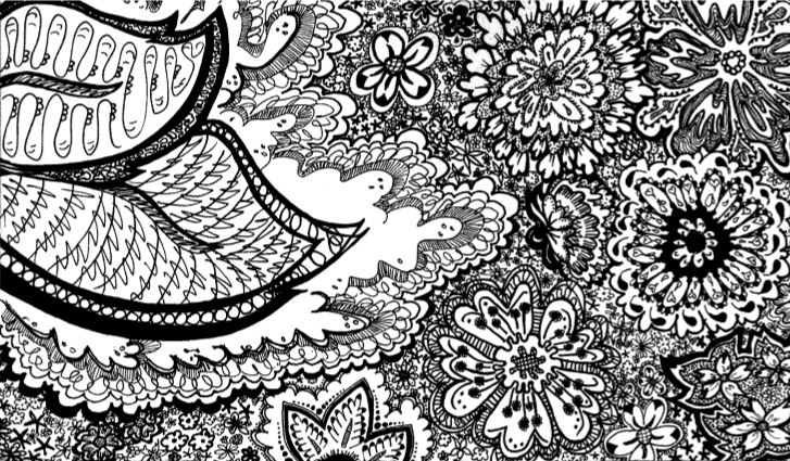 Intricate Floral Doodle By Category41 On DeviantArt