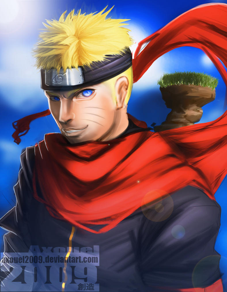 Naruto by axouel2009