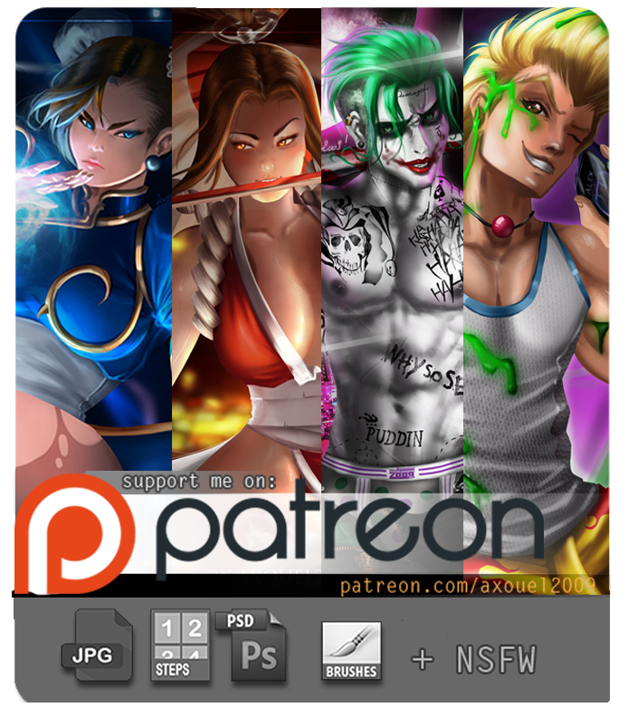 Patreon Promo by axouel2009