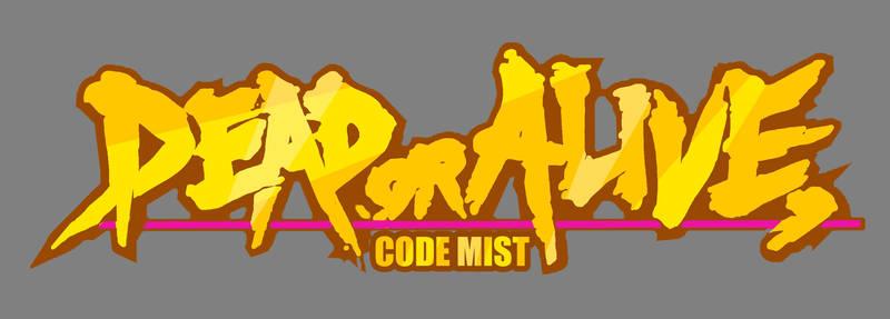 DEAD OR ALIVE code mist LOGO