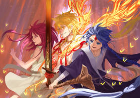 Magi: Charge! by Yun-Afezeria