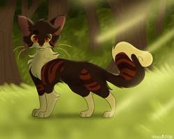 spottedleaf in the forest by hibiscuit--rose