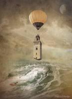 The Tower Balloon by DanielMontoyaStudio