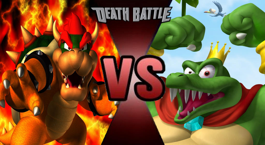 Bowser vs king k rool