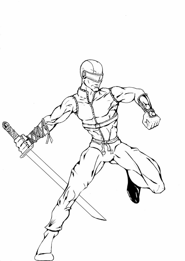 My Snake Eyes By Nomad55 On Deviantart G I Joe Combat Practice Coloring Pages