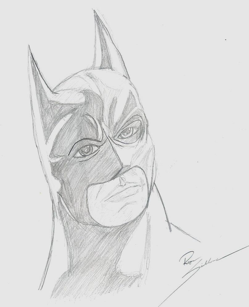 Batman Begins Sketch By Nomad55 On DeviantArt
