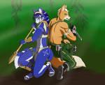 Star Fox Adventures: Krystal and Fox