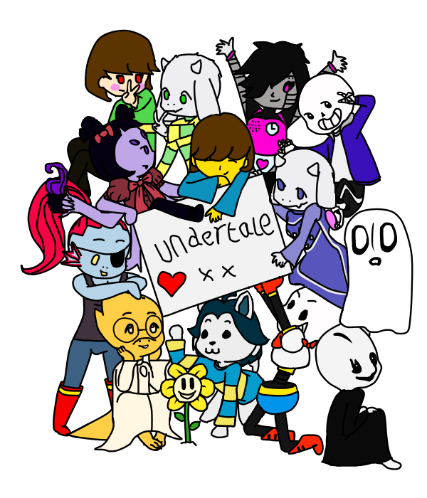 undertale_characters_by_datponyindacorne
