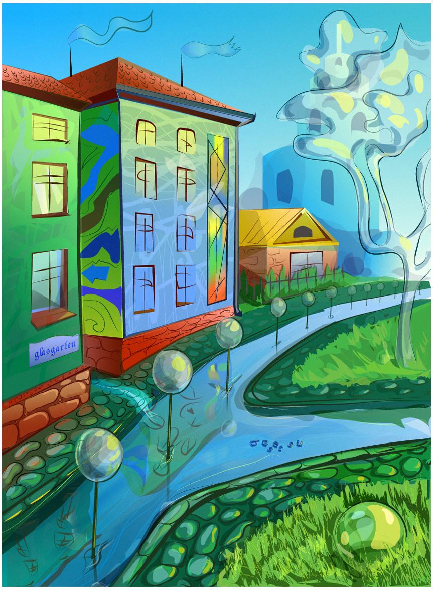 Glasgarten by the-bosetsu