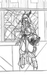 Off Duty Death Knight by Scrap-Lord